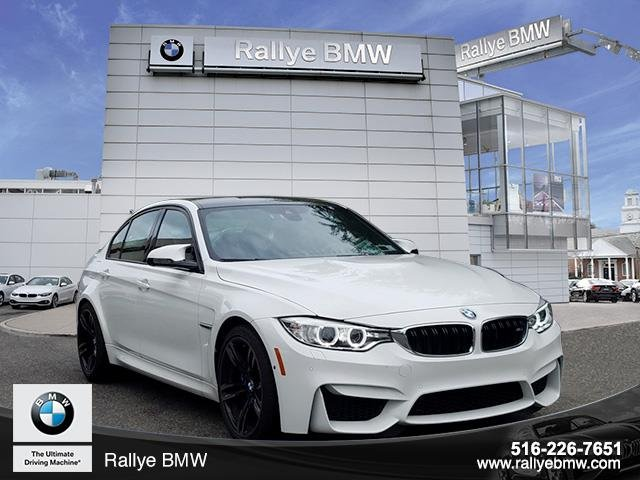 Certified Pre Owned 2016 Bmw M3 Base 4dr Car In Westbury U28720